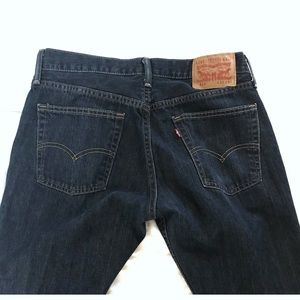 Levi's Jeans 514 Dark Blue 32 Waist 32 Inseam